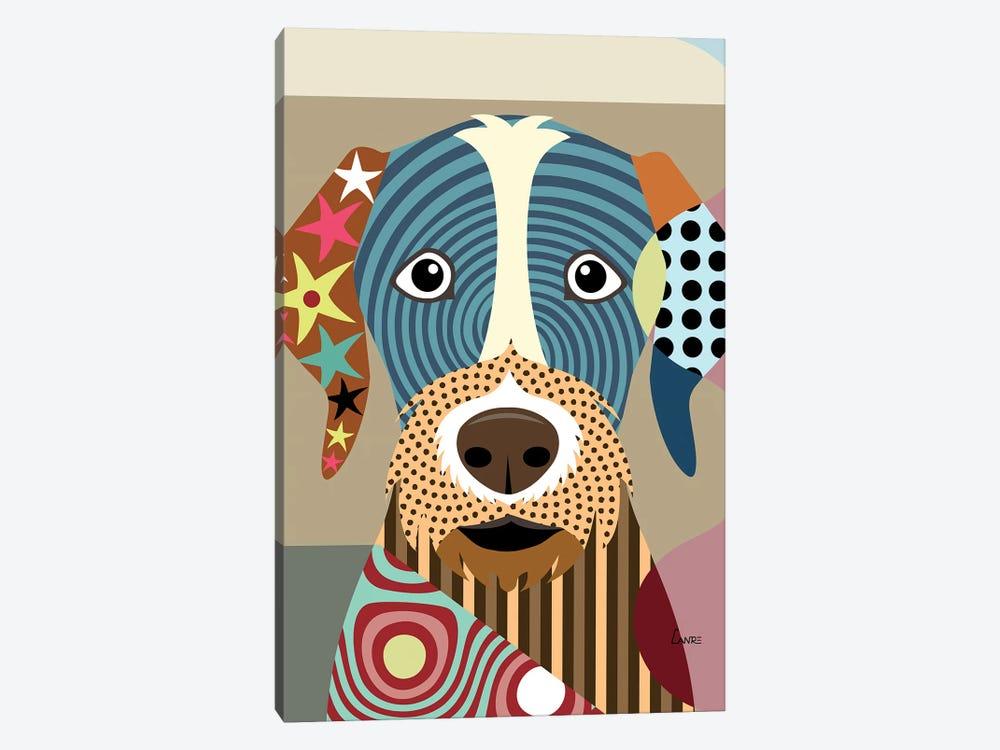 German Wirehaired Pointer by Lanre Studio 1-piece Art Print