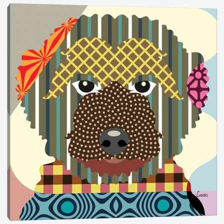 Goldendoodle 3-Piece Canvas #LNR42} by Lanre Studio Canvas Print