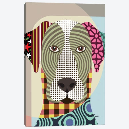Great Dane Canvas Print #LNR44} by Lanre Studio Canvas Art