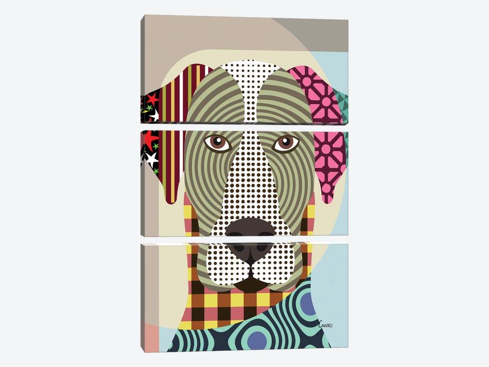 Great Dane by Lanre Studio 3-piece Canvas Art Print