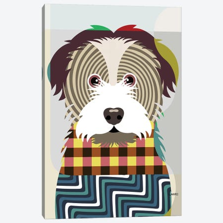 Havanese Canvas Print #LNR46} by Lanre Studio Canvas Artwork
