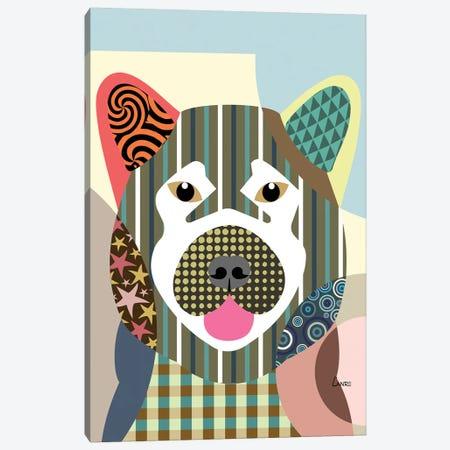 Akita Canvas Print #LNR4} by Lanre Studio Canvas Art Print