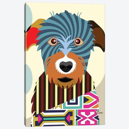 Irish Wolfhound Canvas Print #LNR50} by Lanre Studio Canvas Art
