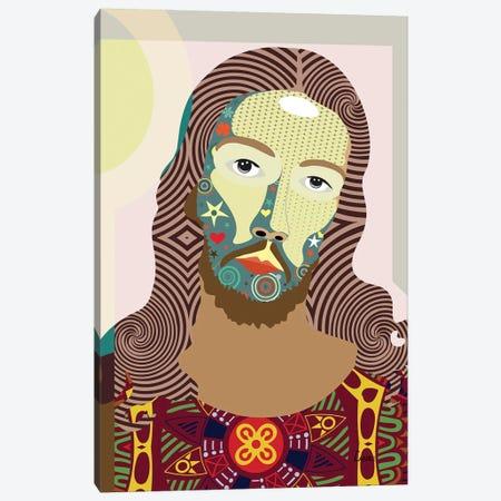 Jesus Christ Canvas Print #LNR52} by Lanre Studio Canvas Art