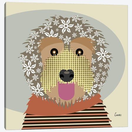 Labradoodle Canvas Print #LNR54} by Lanre Studio Art Print
