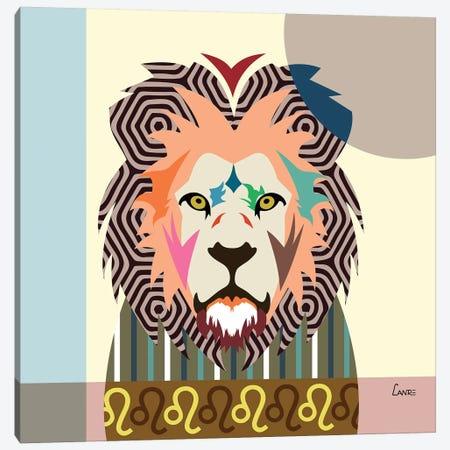 Leo Zodiac Canvas Print #LNR56} by Lanre Studio Canvas Art Print