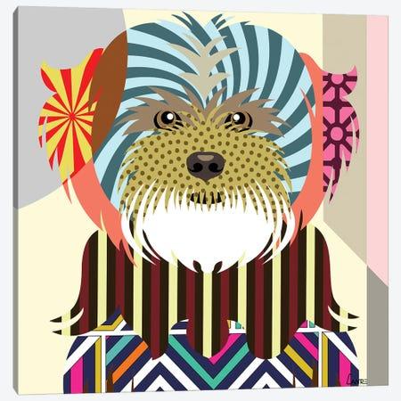 Lhasa Apso Canvas Print #LNR57} by Lanre Studio Canvas Art Print