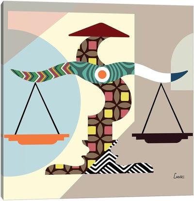 Libra Zodiac Canvas Art Print