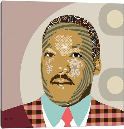 Martin Luther King Jr Canvas Art Print