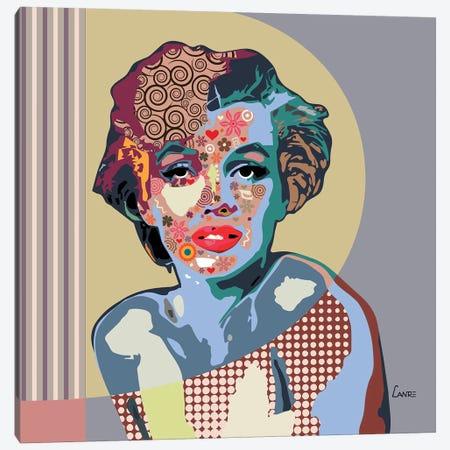 Marilyn Monroe Canvas Print #LNR64} by Lanre Studio Canvas Artwork