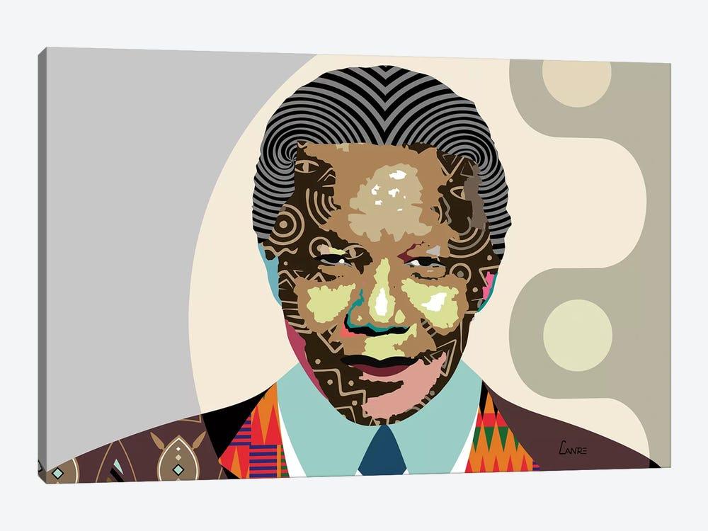 Nelson Mandela by Lanre Studio 1-piece Art Print