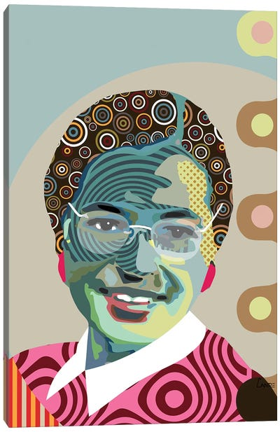Rosa Parks Canvas Art Print