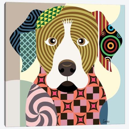 Rottweiler Canvas Print #LNR76} by Lanre Studio Canvas Art Print