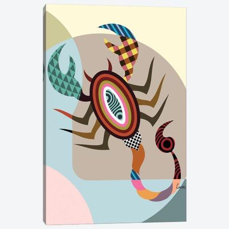 Scorpio Zodiac Canvas Print #LNR81} by Lanre Studio Canvas Print