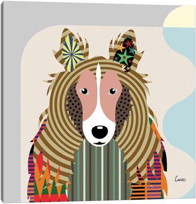 Shetland Sheepdog Sheltie Canvas Art Print