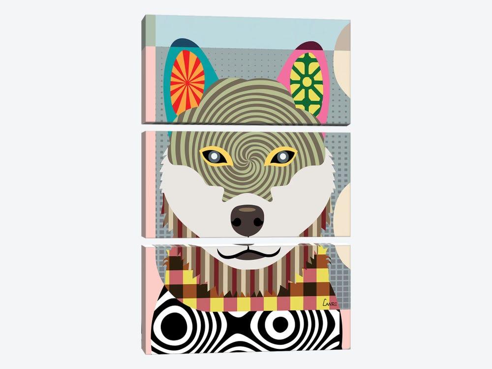 Shiba Inu by Lanre Studio 3-piece Art Print