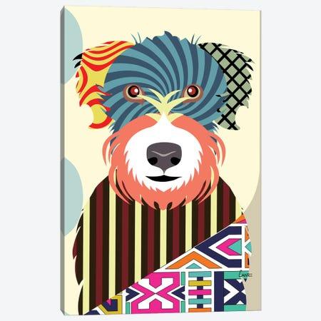 Wheaten Terrier 3-Piece Canvas #LNR95} by Lanre Studio Art Print