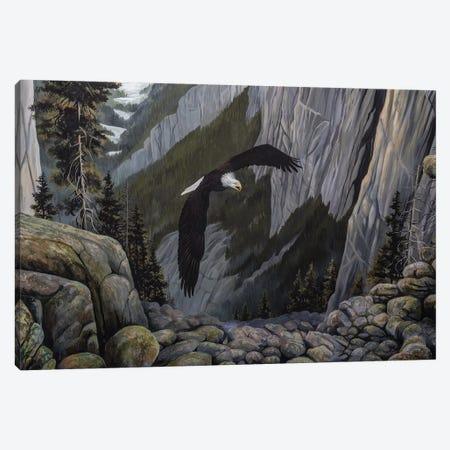 Soaring High I Canvas Print #LNS5} by B. Lynnsy Canvas Art