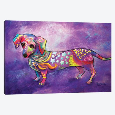 Dachshund Canvas Print #LNT14} by Patricia Lintner Canvas Print
