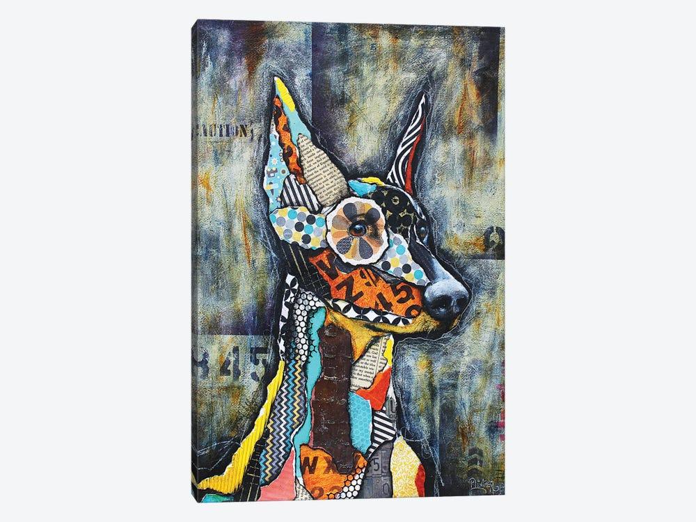 Doberman by Patricia Lintner 1-piece Art Print