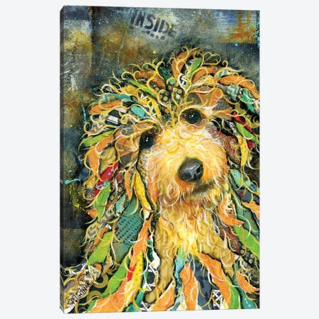 Goldendoodle Canvas Print #LNT16} by Patricia Lintner Canvas Print