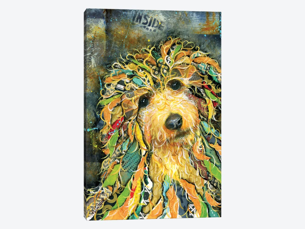 Goldendoodle by Patricia Lintner 1-piece Canvas Wall Art