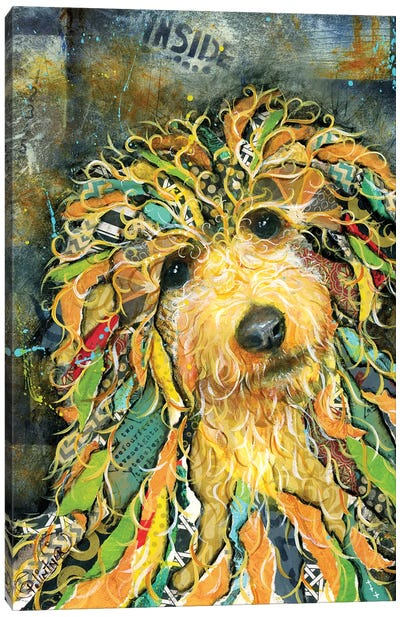 Goldendoodle Canvas Art Print