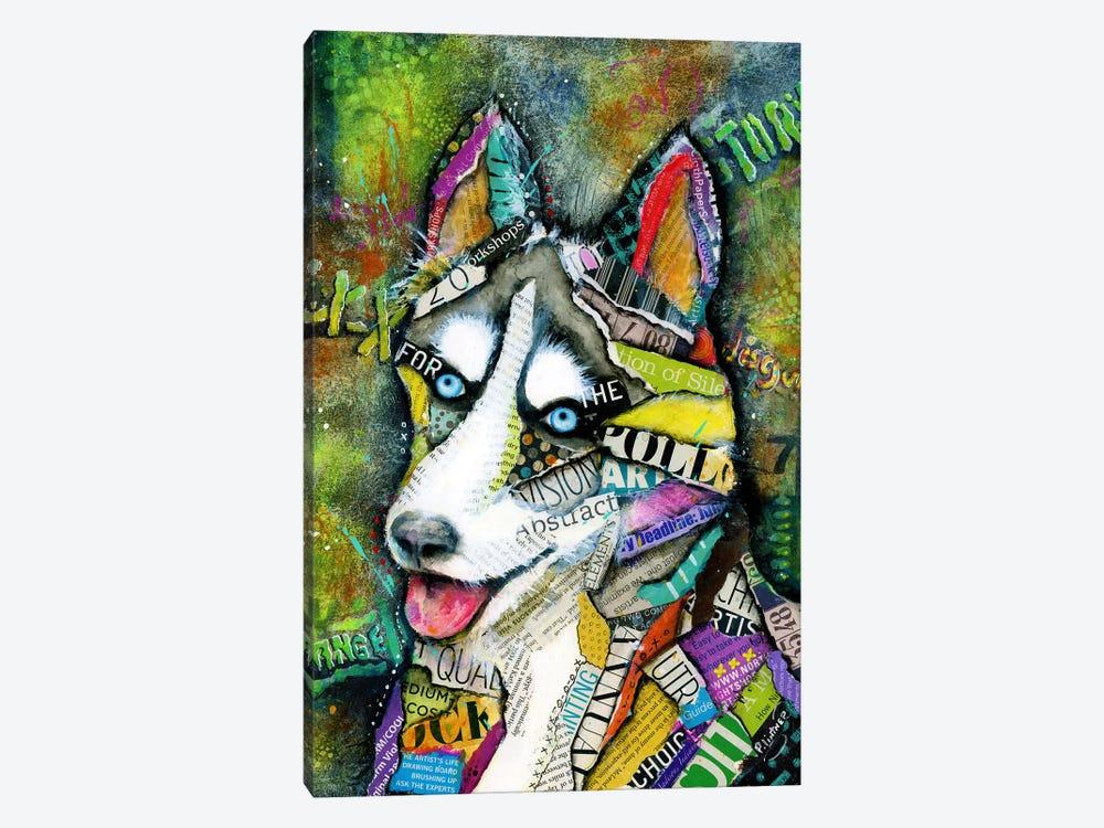 Husky by Patricia Lintner 1-piece Canvas Art Print