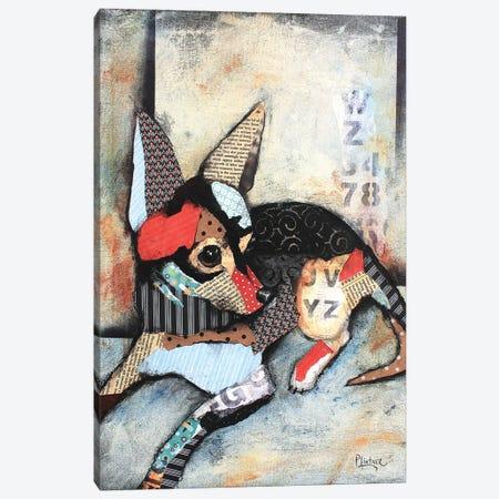 Chihuahua Canvas Print #LNT28} by Patricia Lintner Canvas Art Print