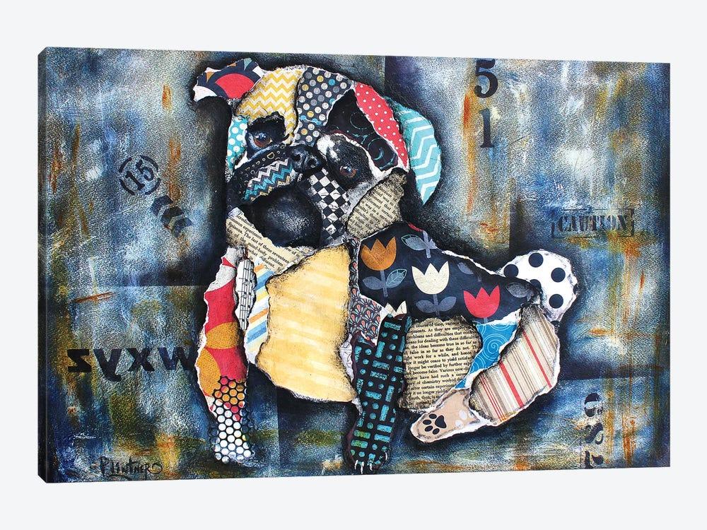 Urban Pug by Patricia Lintner 1-piece Canvas Wall Art