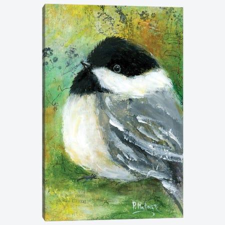 Chickadee Canvas Print #LNT45} by Patricia Lintner Canvas Artwork