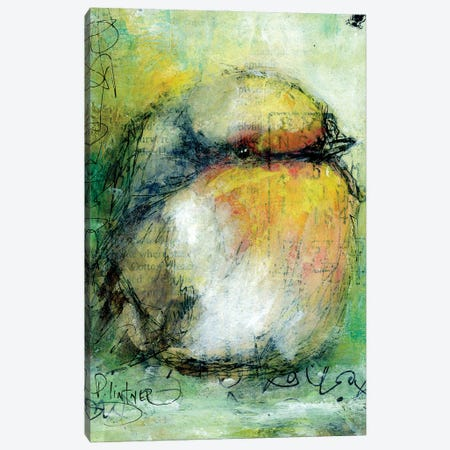 Sparrow Canvas Print #LNT46} by Patricia Lintner Canvas Art