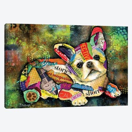 French Bulldog Canvas Print #LNT49} by Patricia Lintner Art Print