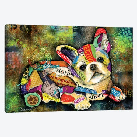 French Bulldog Canvas Print #LNT49} by Patricia Lintner Art Print