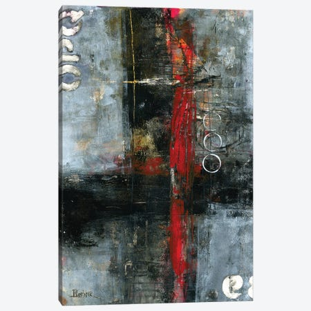 The Red Door Canvas Print #LNT57} by Patricia Lintner Art Print