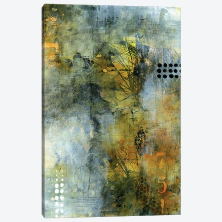 Welcome To The Jungle Canvas Print #LNT58} by Patricia Lintner Canvas Wall Art