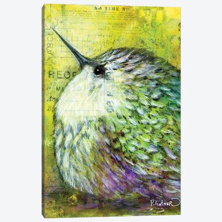 Hummingbird Canvas Print #LNT66} by Patricia Lintner Canvas Wall Art