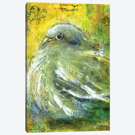 Mourning Dove Canvas Print #LNT70} by Patricia Lintner Canvas Art