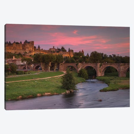 Carcassonne Canvas Print #LNZ101} by Sergio Lanza Canvas Print