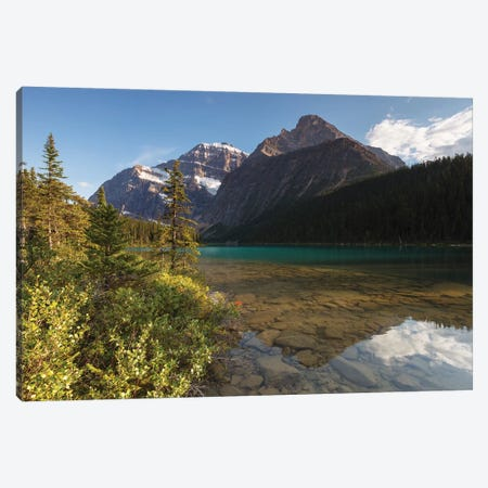 Cavell Lake Canvas Print #LNZ103} by Sergio Lanza Canvas Art Print