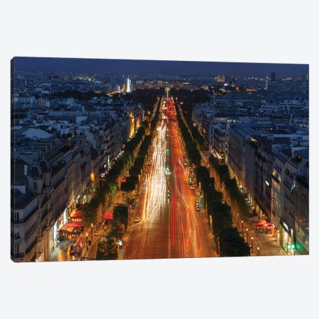 Champs-Élysées I Canvas Print #LNZ105} by Sergio Lanza Canvas Art