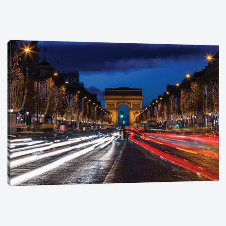 Champs-Élysées II Canvas Print #LNZ106} by Sergio Lanza Canvas Wall Art