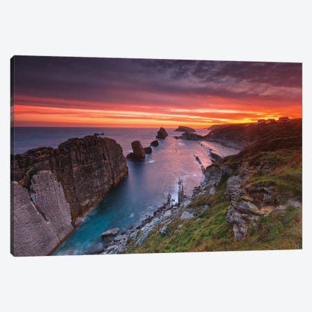 Costa Quebrada Canvas Print #LNZ108} by Sergio Lanza Art Print
