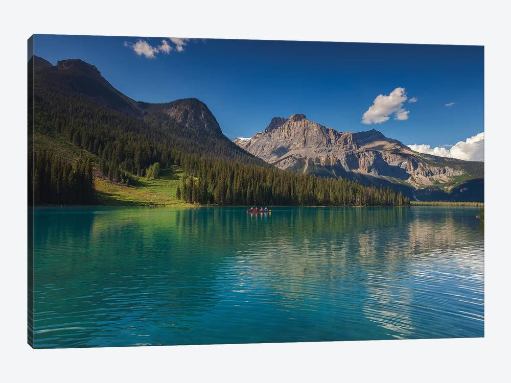 Emerald Green by Sergio Lanza 1-piece Canvas Wall Art