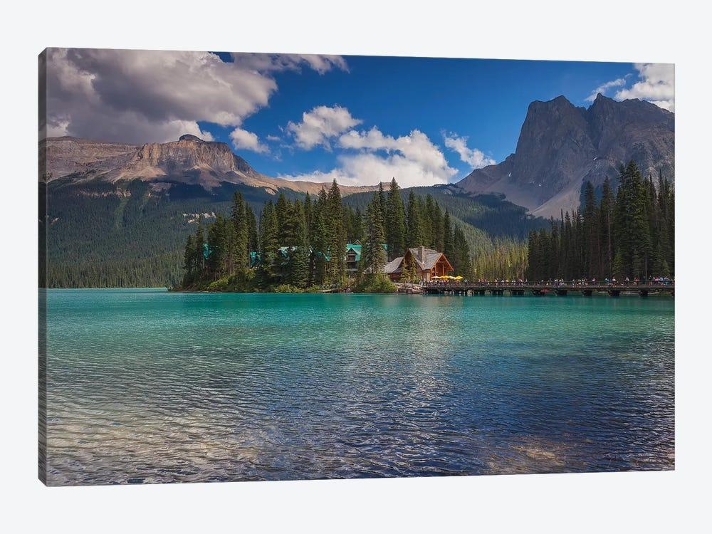 Emerald Lake by Sergio Lanza 1-piece Canvas Print