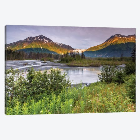 Exit Glacier Canvas Print #LNZ118} by Sergio Lanza Canvas Artwork