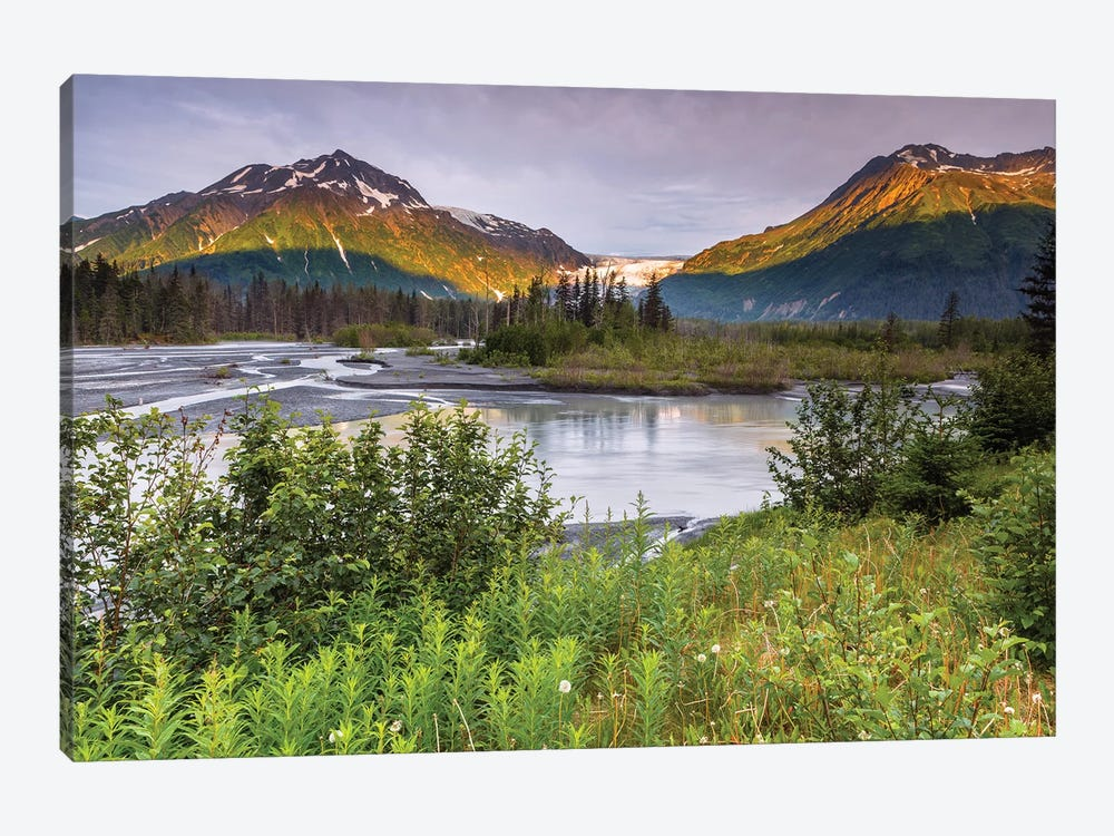 Exit Glacier by Sergio Lanza 1-piece Canvas Artwork