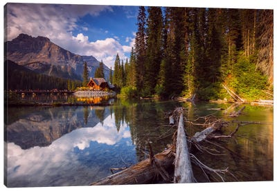 Emerald Lake Canvas Art Print