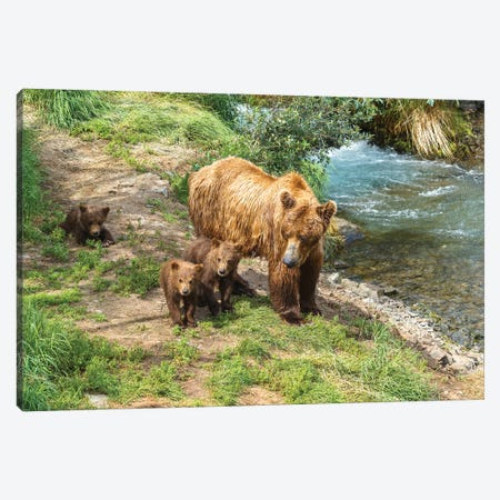 Family Time Canvas Print #LNZ121} by Sergio Lanza Art Print