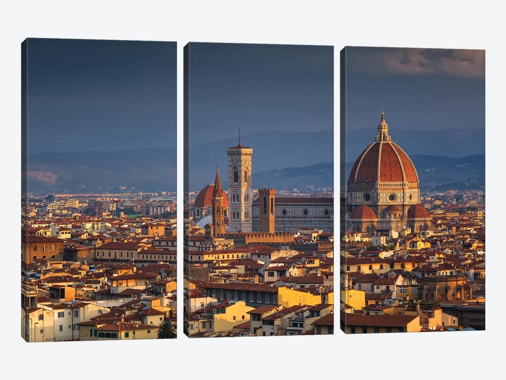 Firenze by Sergio Lanza 3-piece Canvas Wall Art